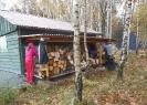 Brigáda - dřevo, lavičky, směrovník (říjen 2018)