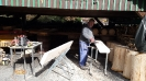 Příprava a instalace laviček (19.3.2015)